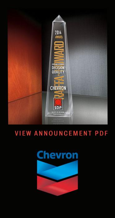 PDF Chevron Raiffa-Howard Award