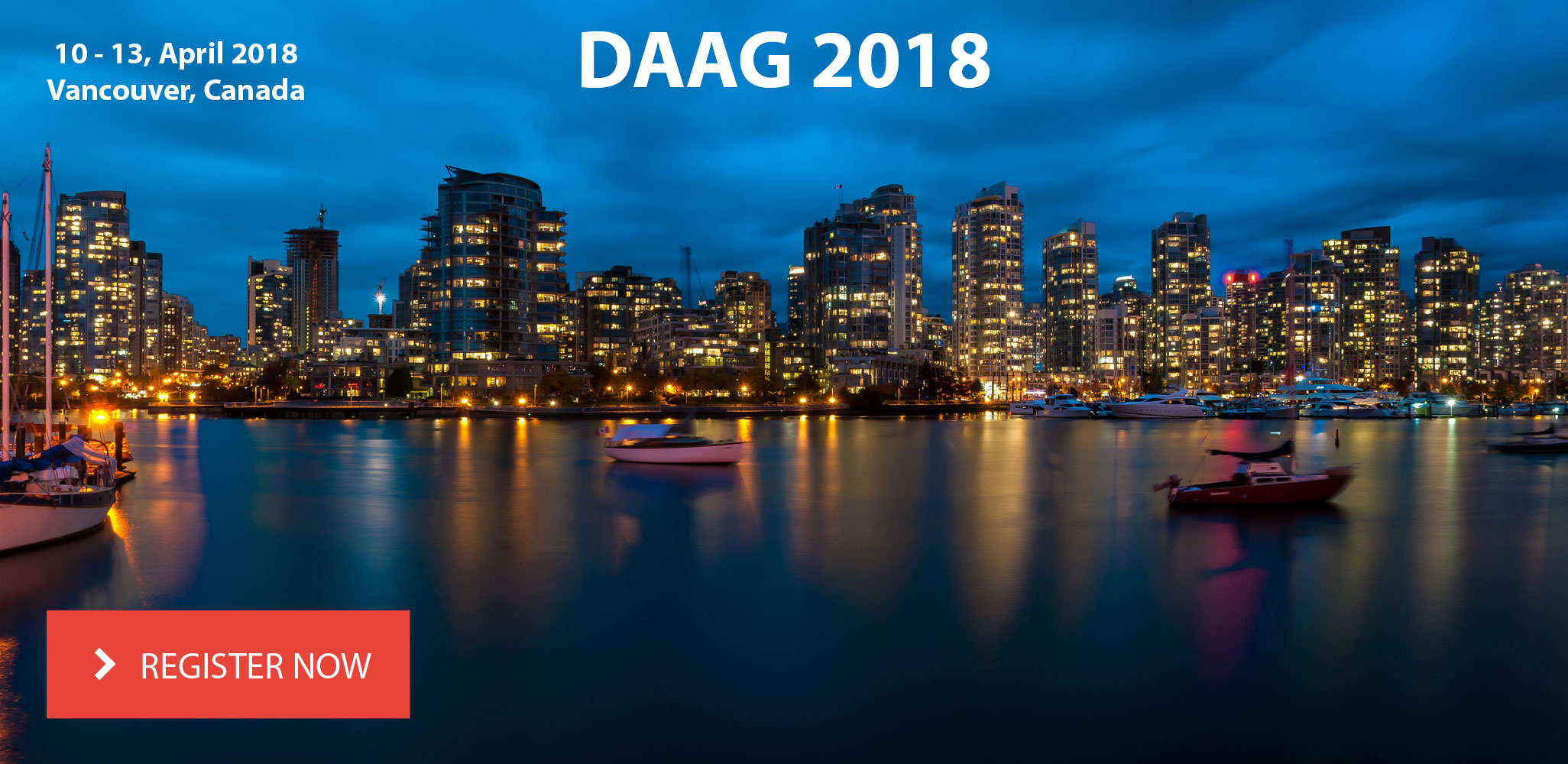 Register for DAAG 2018