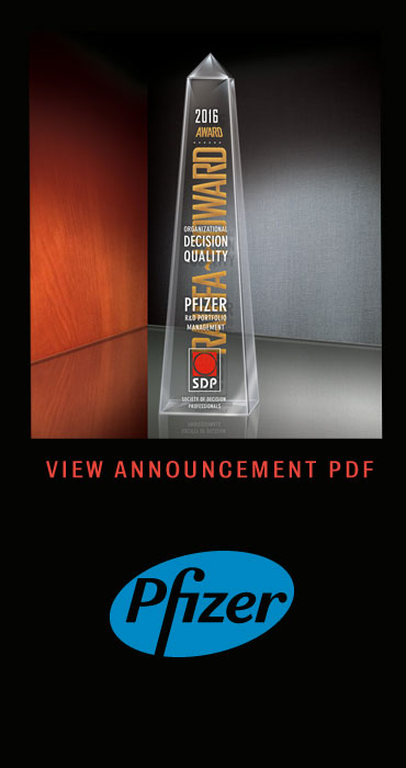 PDF pfizer Raiffa-Howard Award